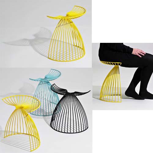 Complementi d'arredo di colore giallo: Angel ideato da Gry Holmskov