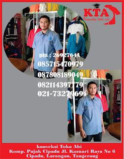 Jasa Pembuatan Pesan Jual Seragam Kerja Di Tangerang