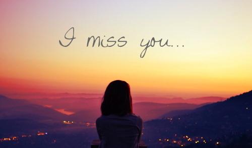 Mots d'amour tu me manque ma chérie