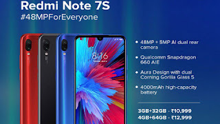 Redmi Note 7S launches, Know price and features