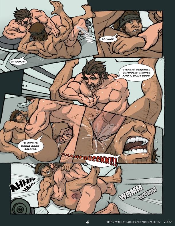 Metal Gear Solid Gay 12