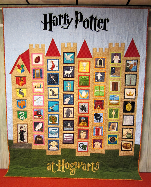 Harry Potter At Hogwarts Quilt Free Pattern designed by Owlsea of Owlsea's Patterns