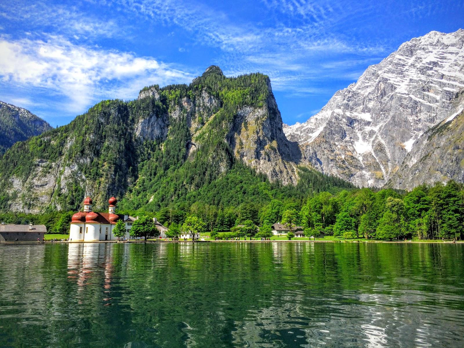 四處旅行: [奧地利行] Day7 德國國王湖、薩爾斯堡城區、米拉貝爾宮