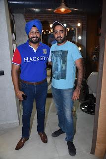 Inderpal Singh with Gurmukh Singh
