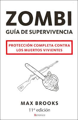 zombi guía de supervivencia de Max Brooks