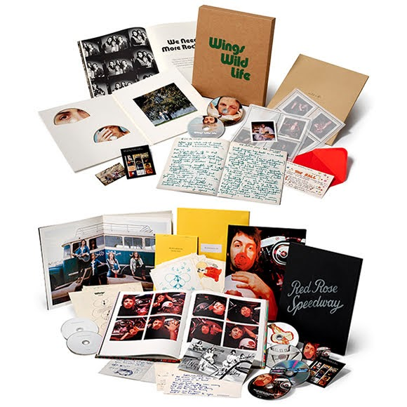 Paul McCartney : réédition de «Wild Life» et «Red Rose Speedway»