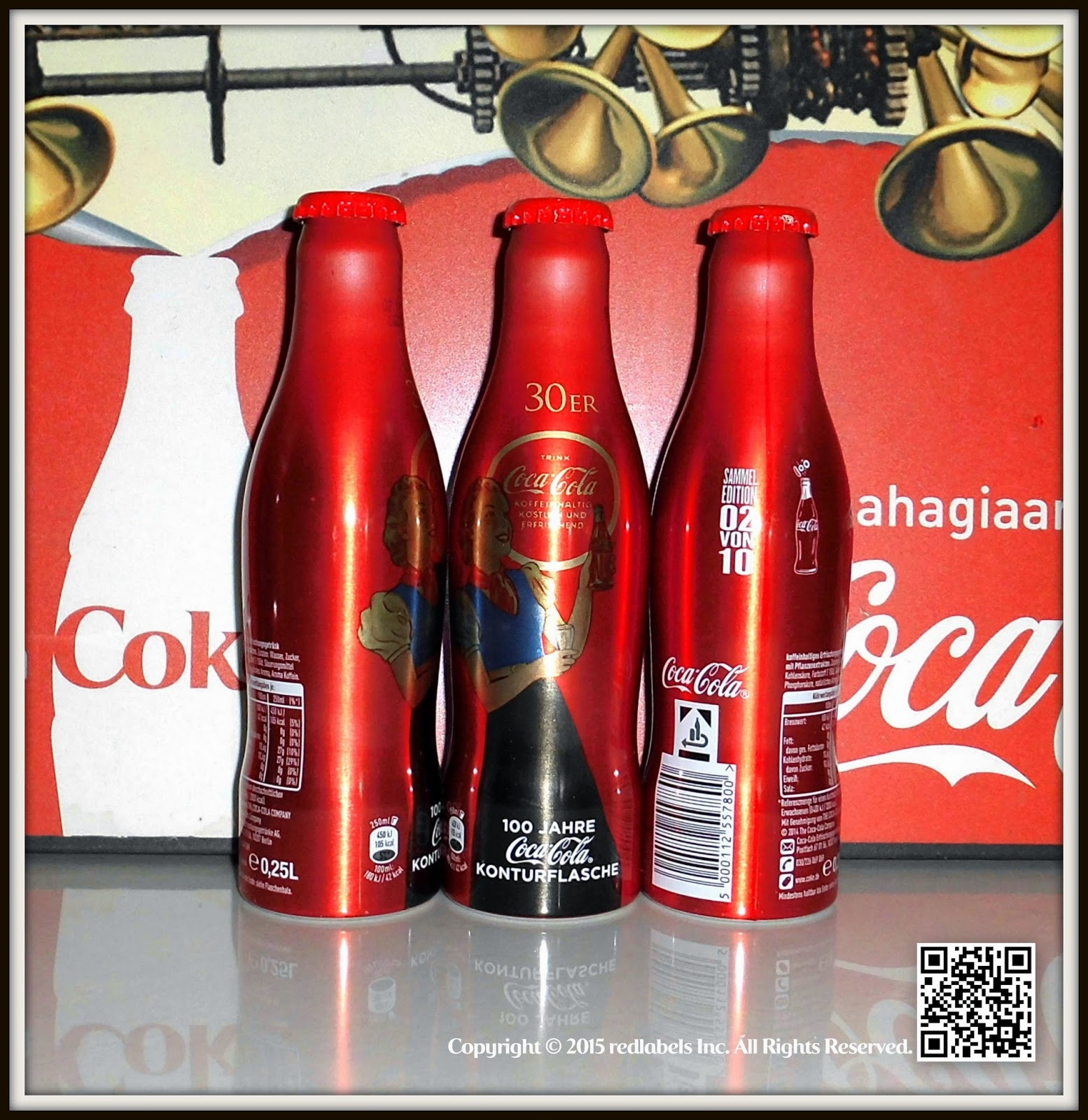 Aluminum Bottle Collector Club Coca Cola 100 Year