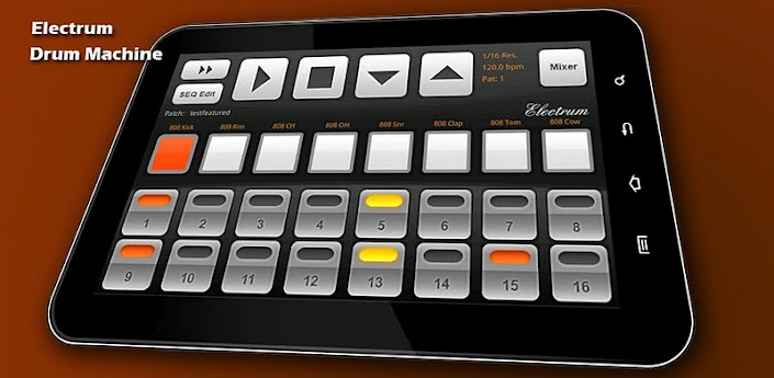 electrum drum machine sampler 4 7 4 apk android games apps apk free download