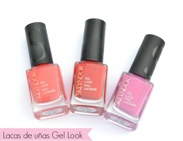 lacas de uñas gel look