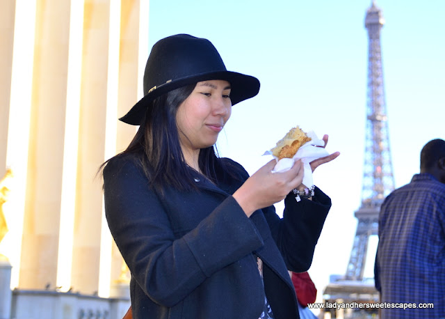 Crepe in Paris