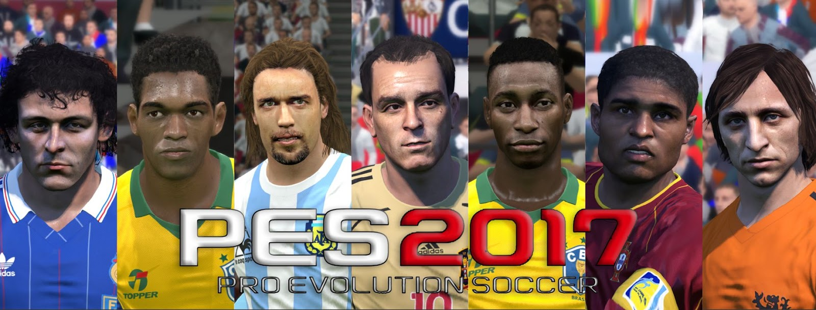 PES Legends Patch by DNAI For PES 2017