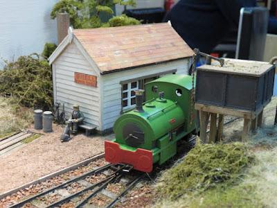 Morton Stanley 7mm scale narrow gauge layout