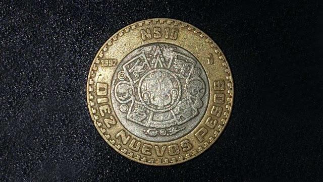 Tu moneda de 10 pesos podría valer hasta 2 mil pesos