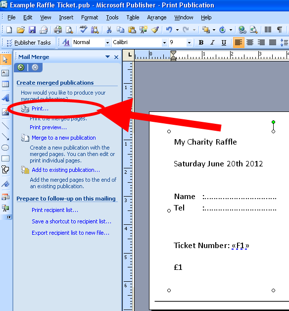 3 ways to print cheap or free numbered raffle tickets for your – Ticket Creator Free