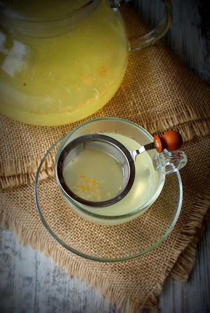 napój na przeziębienie,imbir,cytryna,Kinga Paruzel,ksylitol,skworcu,domowe sposoby na przeziębienie,