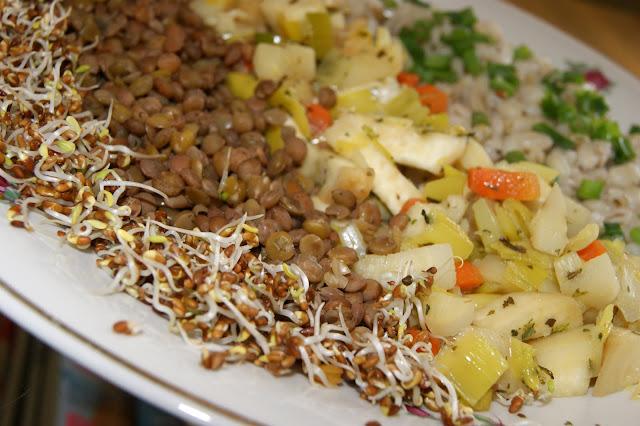 danie wegetariańskie na obiad