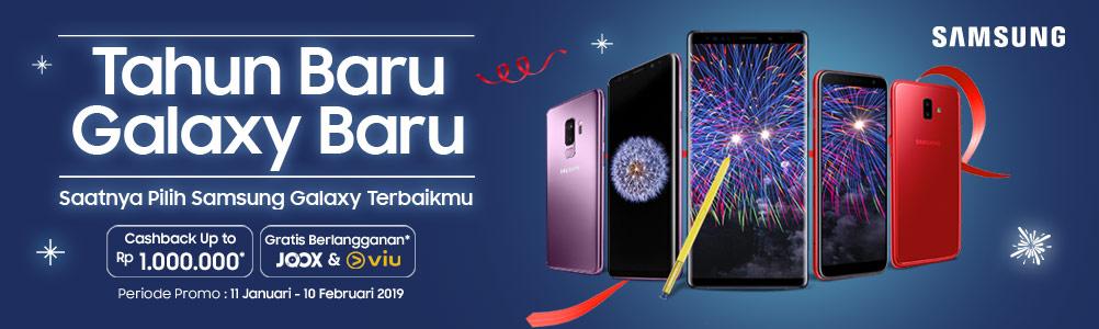 #Dinomarket - Promo Cashback s.d 1Juta HP Samsung Galaxy Series (s.d 10 Feb 2019)