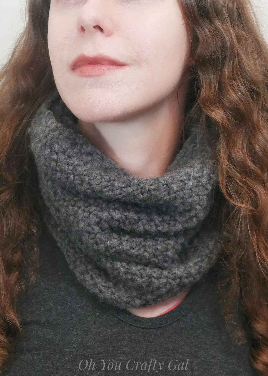 Chelsea Chunky Cowl Free Knitting Pattern - Oh You Crafty Gal