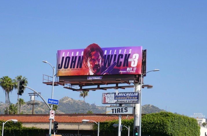 John Wick 3 Parabellum billboard