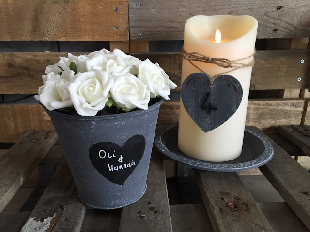 Create your own beautiful wedding centrepieces with this craft tutorial from You Can Folk It