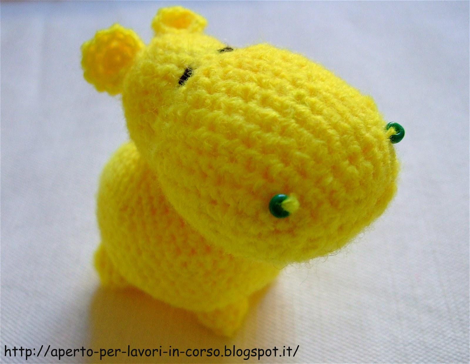 Ippopotamo Uncinetto - Amigurumi Tutorial -Hippopotamus Crochet ... | 1239x1600