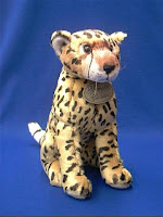 russ cheetah plush stuffed animal toy