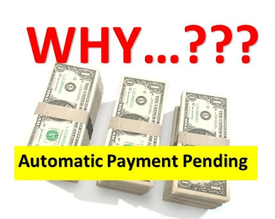 Why Happen With Stats Automatic Payment Pending?