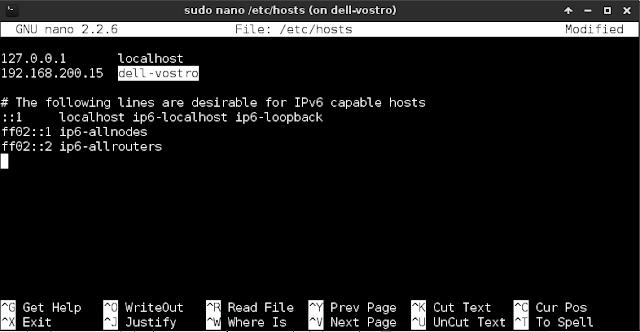 Cara mengganti hostname di GNU/Linux