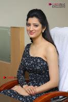 Telugu Actress Richa Panai Stills in One Shoulder Floral Long Dress at Rakshaka Bhatudu Movie Interview  0166.JPG