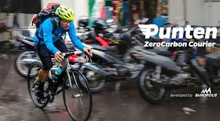 Sepeda selama ini hanya dikenal sebagai alat transportasi umum. Namun di tangan Pak Anugrah Nurrewa, 30, kendaraan roda dua tersebut dapat dikembangkan menjadi solusi untuk masyarakat perkotaan. Ya, setiap kayuhan sepeda dari Punten Courier selalu yang terbaik untuk Green Society di Kota Kembang, Bandung.