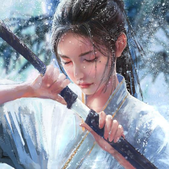 Snow Bamboo Wallpaper Engine