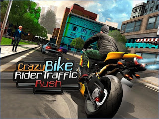 Game Crazy Bike Rider Traffic Rush Download