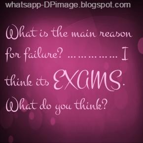 Exams Time Whatsapp DP Image