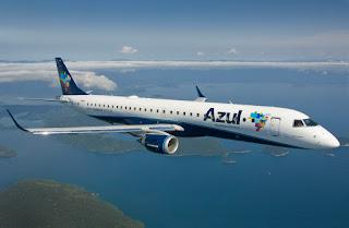 Azul criará nova rota aérea contemplando Cajazeiras