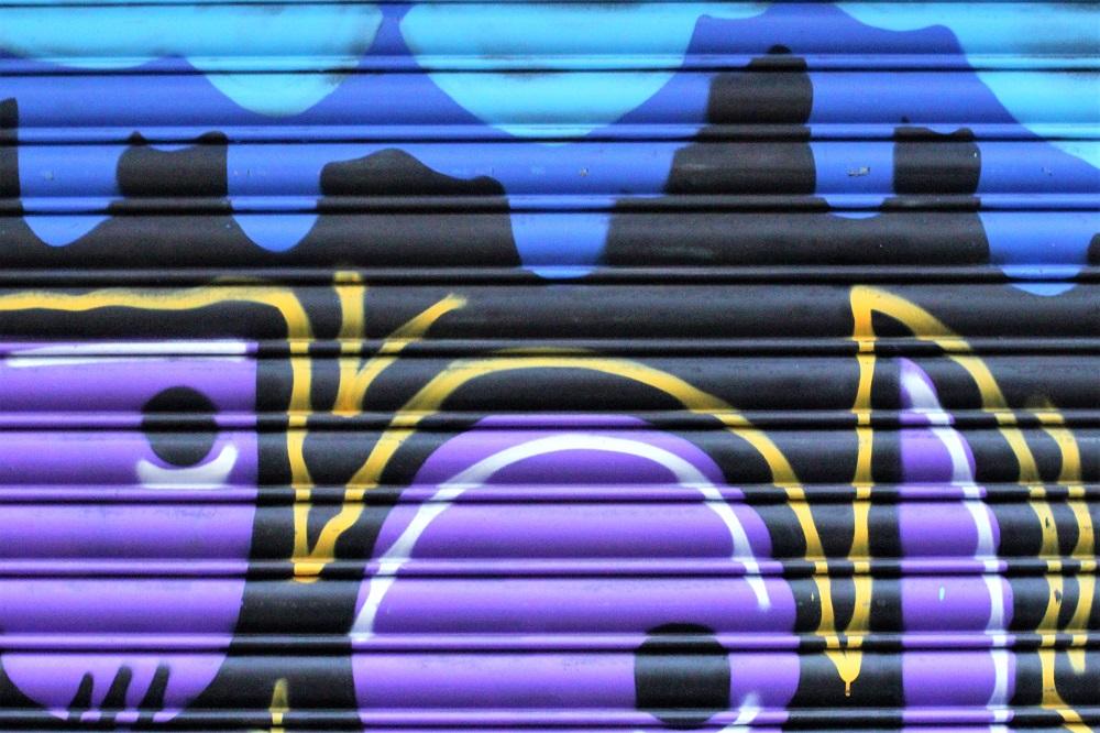 Graffiti, Manchester weekend - UK travel blog