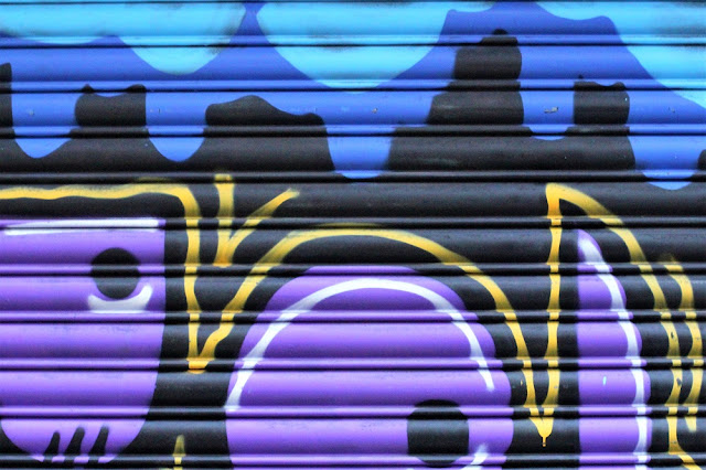 Graffiti, Manchester weekend - UK travel blog