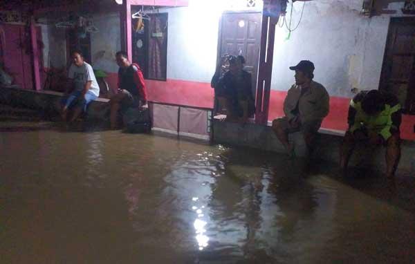 kecamatan ligung majalengka terendam banjir
