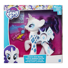 MLP Glamour Glow Rarity Brushable Figure