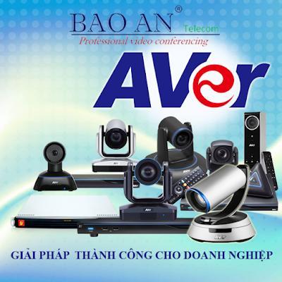 Các thiết bị hội nghị truyền hình AVer chính hãng chất lượng cao