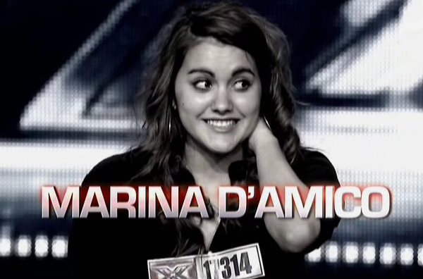X-Factor Marina D'amico It's a man's man's man's world
