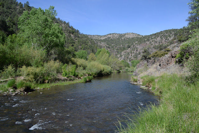 Gila River is wide and shallow