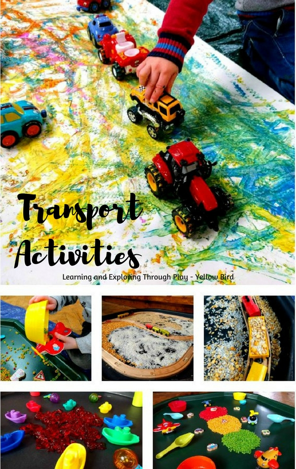 Learning and Exploring Through Play: Transport Activities