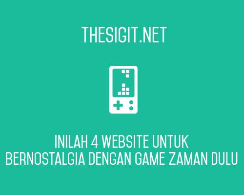 Inilah 4 Website untuk Bernostalgia dengan Game Zaman Dulu ...