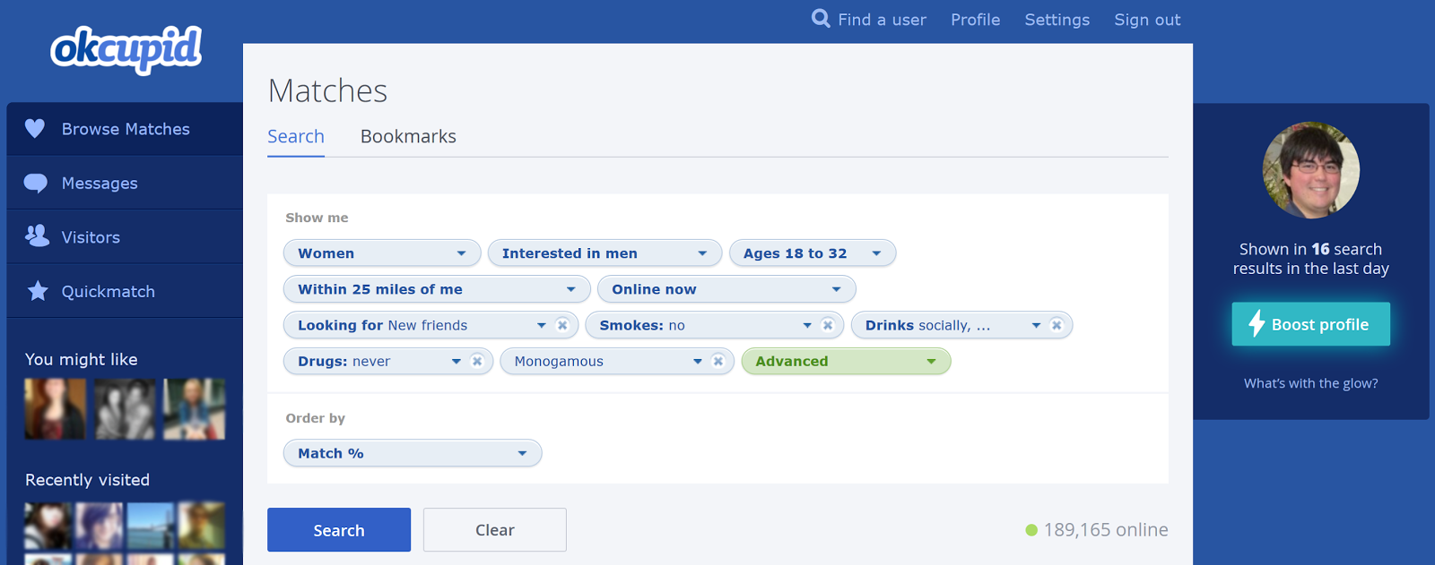 Okcupid dating persona results of primary. squirt org lists the best cruising spots in port elliot.