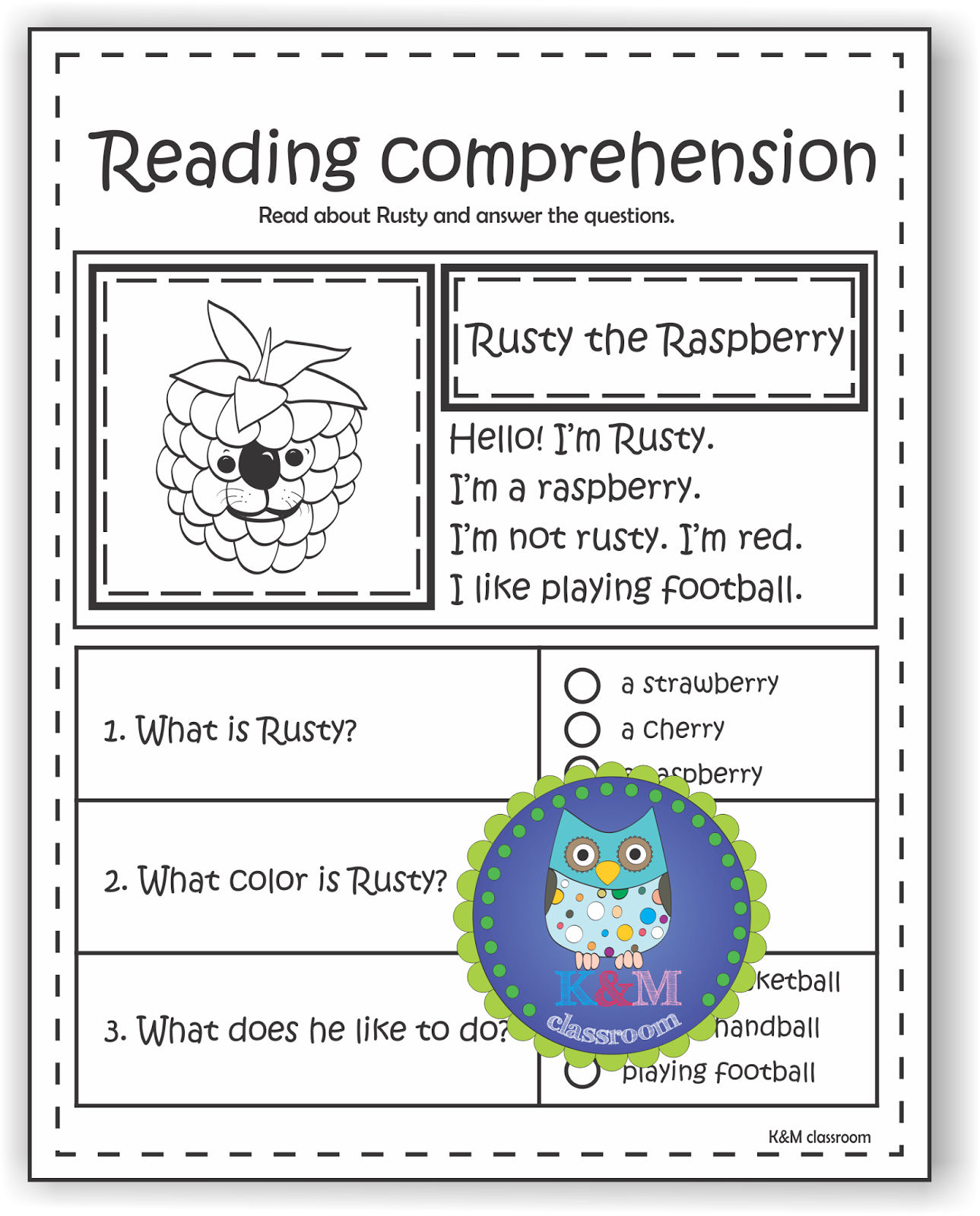 Fruit Worksheets For Esl Students