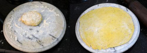 Making dhokli