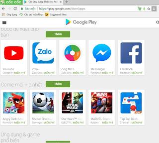 Ch Play APK miễn phí cho máy Android