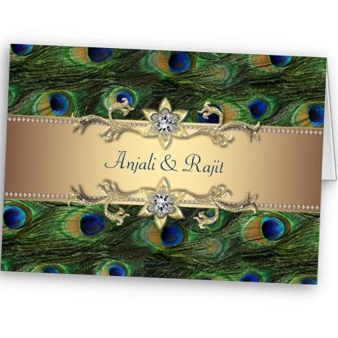 Attractive Peacock Wedding Invitation So Pretty Invitations And