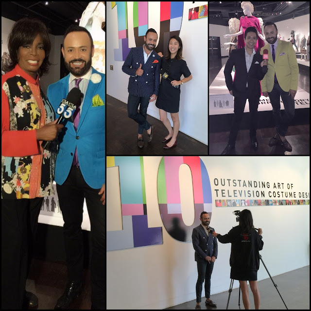 FIDM MUSEUM NICK VERREOS.....10th Annual Art of Television Costume Design Exhibition: Media Blog Photo Recap with KTLA, ABC7, KSCI, LATV