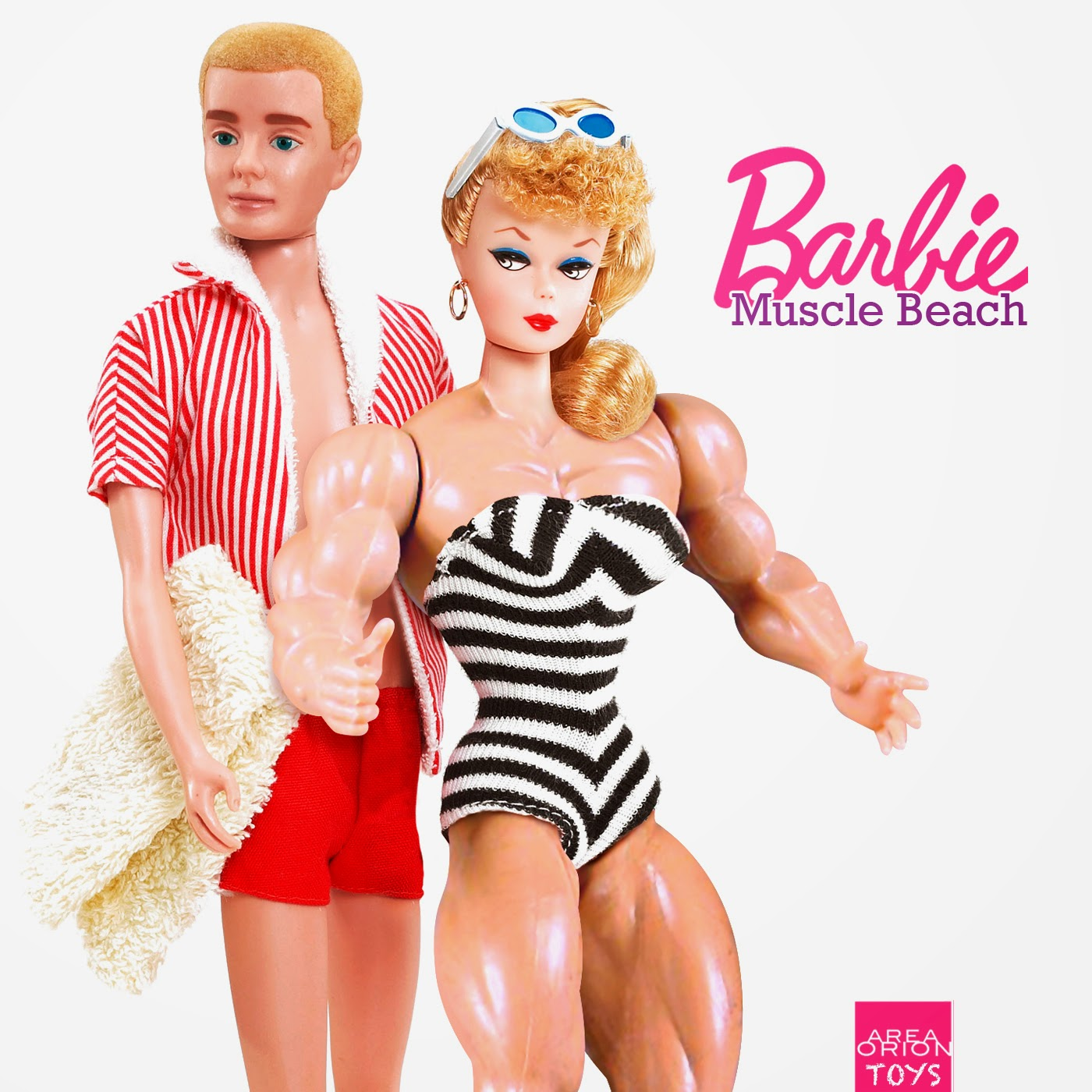 Muscle Beach Barbie